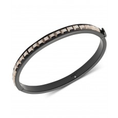 DKNY náramek square stone bangle black 6820754