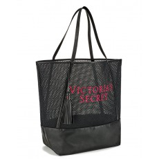 Victoria´s Secret large sport gym black mesh tote