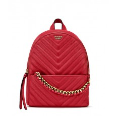 Victoria´s Secret luxe quilt Mini city backpack red
