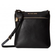 Michael Kors Riley small flat crossbody black