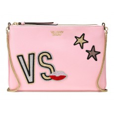 Victoria´s Secret slim crossbody kabelka light pink