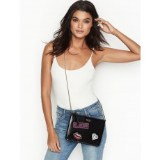 Victoria´s Secret slim crossbody kabelka black