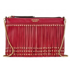 Victoria´s Secret slim crossbody kabelka red
