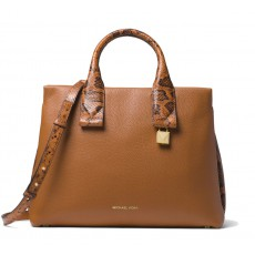 Michael Kors kabelka Rollins large leather acorn