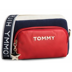 Kabelka Tommy Hilfiger Corp highlight cross red