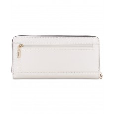 GUESS Cherie zip-around wristlet stone multi