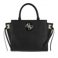 Guess kabelka open road society black satchel