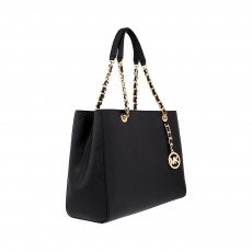 Michael Kors Susannah large saffiano leather black