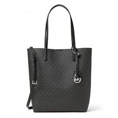 Michael Kors kabelka Hayley large signature black/gray