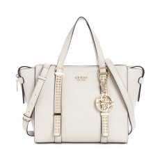 Guess kabelka Eileen studded satchel stone multi
