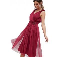 Little Mistress luxusní skládané vzdušné černo-bílé šaty - Livien.cz d07aada40b