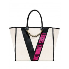 Victoria´s Secret taška Ribbon Angel City tote cream