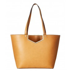 Calvin Klein Novelty cut out tote cashew