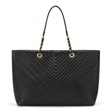 Victoria´s Secret prošívaná kabelka Everything tote black